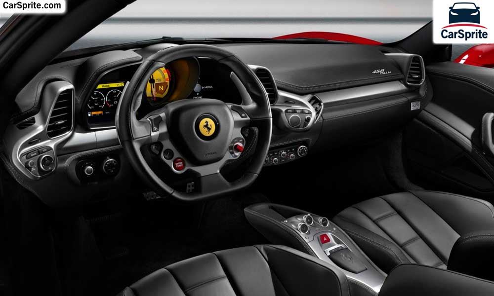 Ferrari 458 2017 Prices And Specifications In Kuwait | Car Sprite