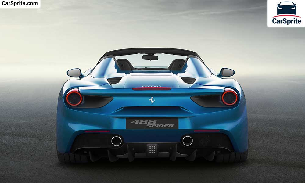 488 Spider 2017. Ferrari 488 Spider 2017 Prices And Specifications In Kuwait  | Car Sprite