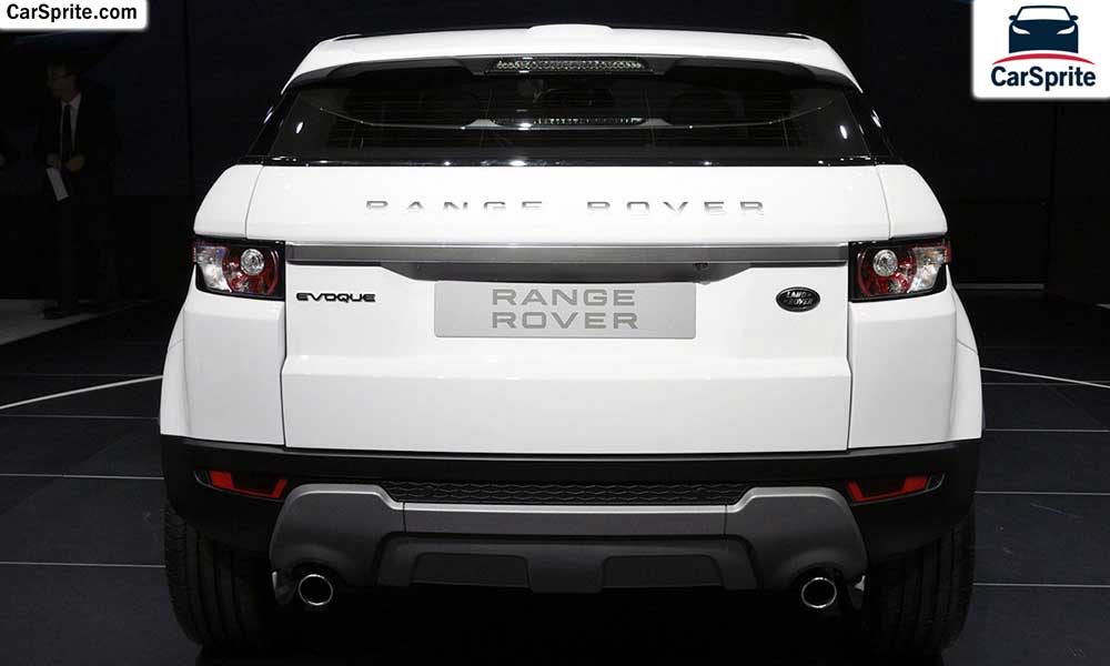 Land Rover Range Rover Evoque 2018 Prices And Specifications In