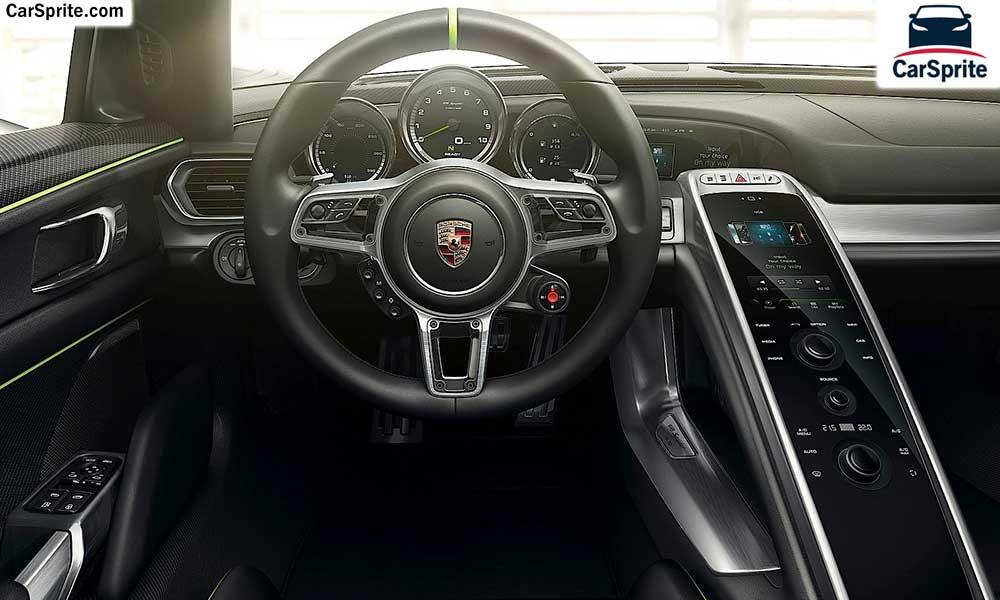Porsche 918 Spyder 2018 Prices And Specifications In Kuwait Car Sprite
