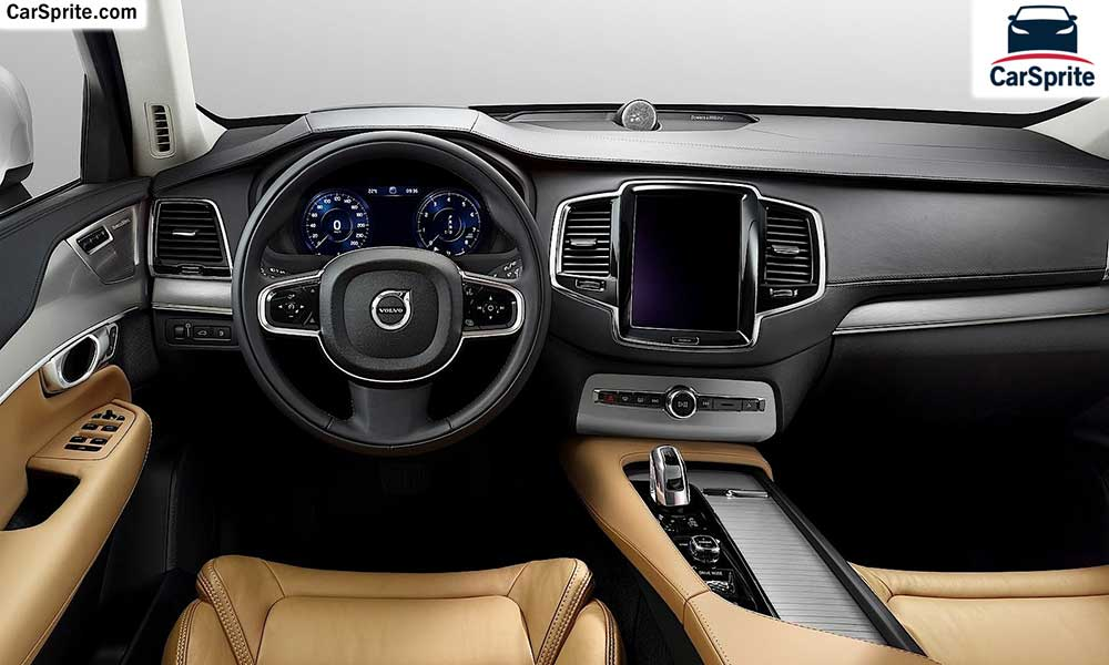 Volvo XC90 2017 prices and specifications in Kuwait | Car Sprite