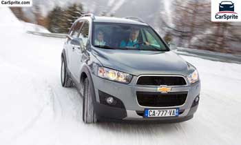 Chevrolet Captiva 2018 prices and specifications in Kuwait | Car Sprite