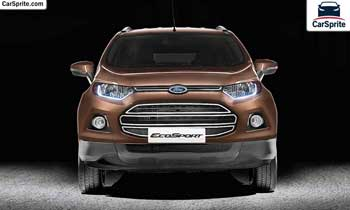 Ford EcoSport 2017 prices and specifications in Kuwait | Car Sprite